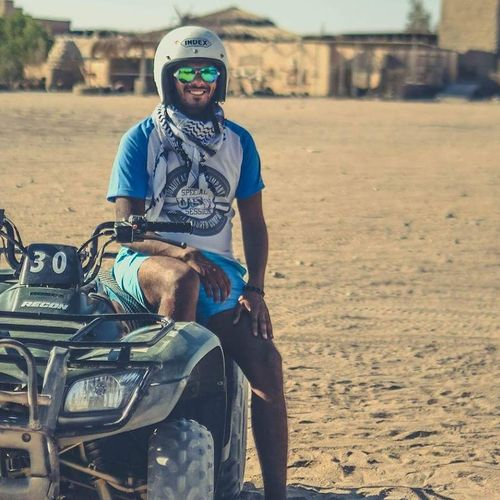 Safari Motorcycle Photography Motorcycle Motorcycle Racing Portrait Only Men One Man Only Adults Only Beard One Person Front View Looking At Camera Outdoors Sitting Adult Day People Biker Men Young Adult First Eyeem Photo