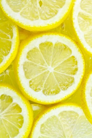 Lemon By Motorola Sauer Sour Zitrone Zitronen Citrone Citrones Gelb Yellow Pattern Pieces