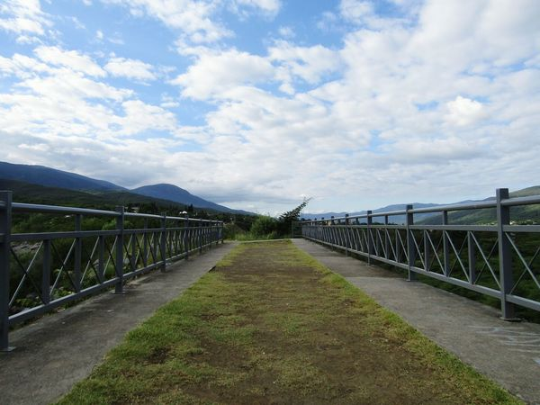 The Way Forward Cloud - Sky Road Railing Protection Outdoors Day Sky No People Nature Blue Sky