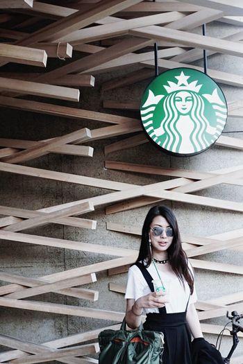 Starbucks Dazaifu Japan Fukuoka Portrait Self Portrait Photo Photography