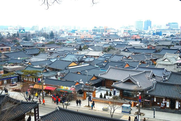 Korea's traditional house. Traditional House Asian Culture Landscape Lovely Place Taking Photo Getting Inspired Jeonju Hanok Village South Korea