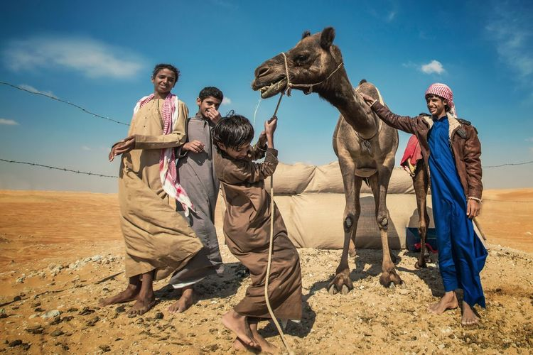 Finding New Frontiers Sunlight Outdoors Camel Desert Working Animal Portrait EyeEm Telling Stories Differently Imagebytawpee Eyeem Philippines EyeemPhilippines Fujifilm_xseries FUJIFILM X-T1 Fujifilmph Fujifilmme Fujifilm In Color Occupation