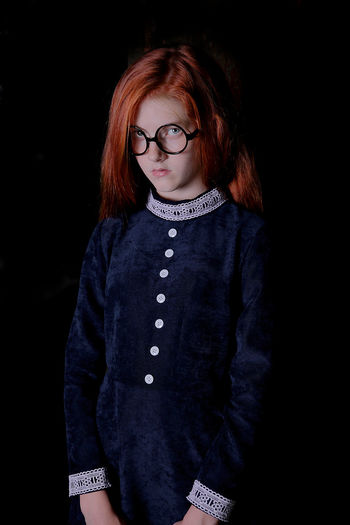 WITCH Girl Young Red Head Young Girl Red Hair Red Red Head Girl Redhair Glasses Witch Hogwarts Slytherin Black Background Eyeglasses  Portrait Warm Clothing Redhead Studio Shot Looking At Camera Young Women Dyed Red Hair Freckle Green Eyes Pink Hair Red Lipstick Long Sleeved The Portraitist - 2019 EyeEm Awards My Best Photo