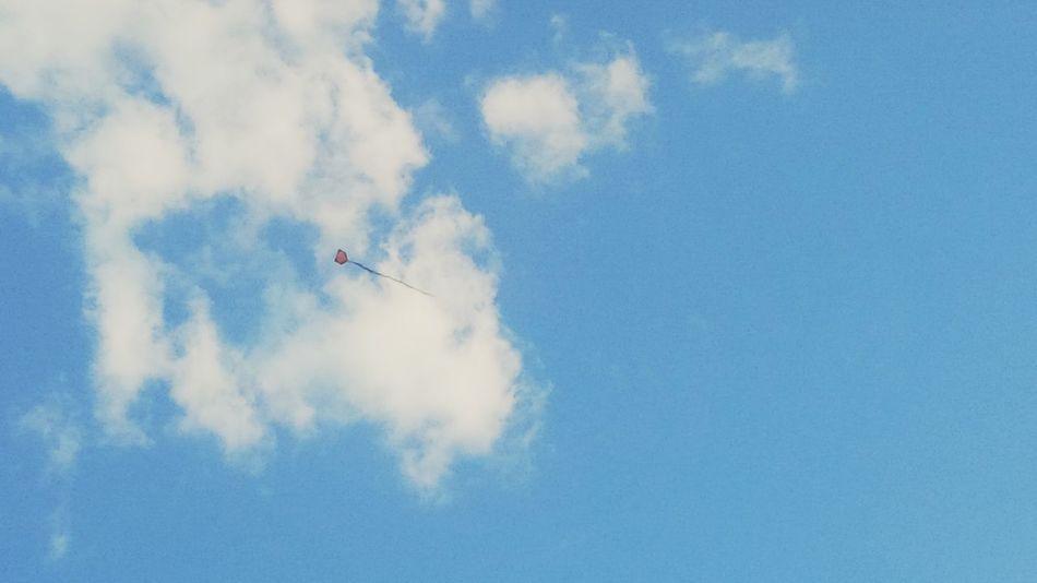 Sentei e observei. Blue Sky