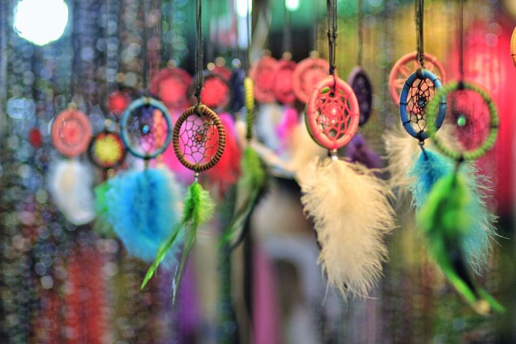 Close-Up Of Dreamcatcher