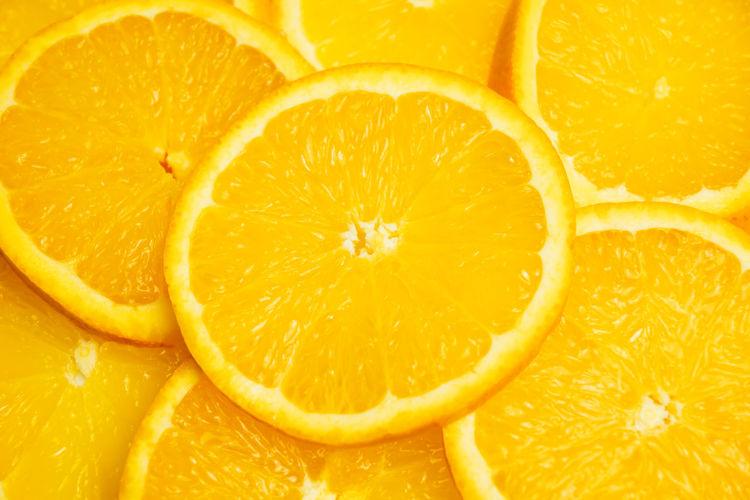 Full frame shot of orange