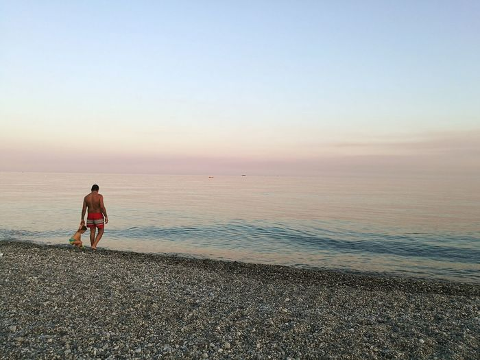 Calabria (Italy) Vacations Blue Sand Horizon Over Water Sky Sea Beach Marinadisanlorenzo Water Sunset Light Effect Light And Shadow People