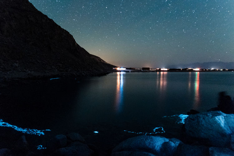 A photo series of nightscapes taken in Sinai the last week of 2016 Arts Culture And Entertainment Astrology Sign Astronomy Beauty In Nature Constellation Galaxy Long Exposure Milky Way Nature Nautical Vessel Night No People Outdoors Reflection Scenics Sea Sky Space Star - Space Star Field Water