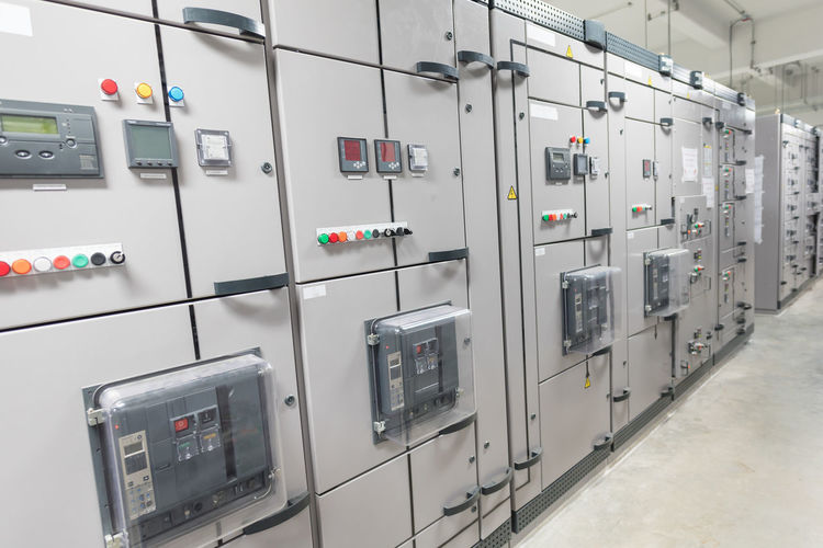 Controls at factory