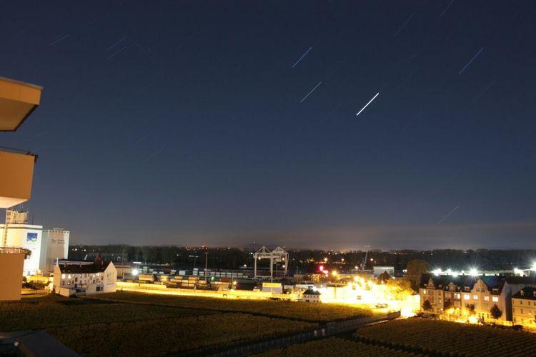 Startrails Nightphotography Long Exposure Worms