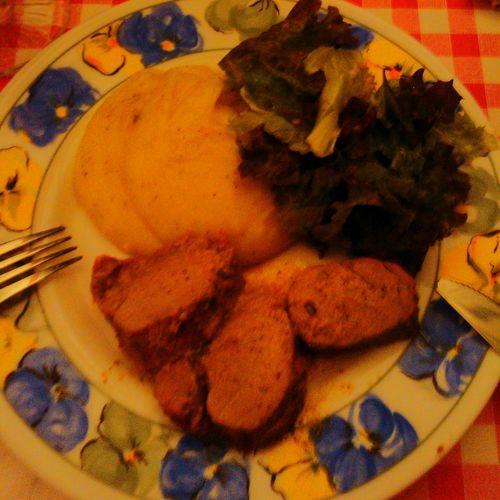 My World Of Food Roasted Pork Mashed Potatoes Eyem Best Shots Eyem Gallery Check This Out EyeEm Best Shots