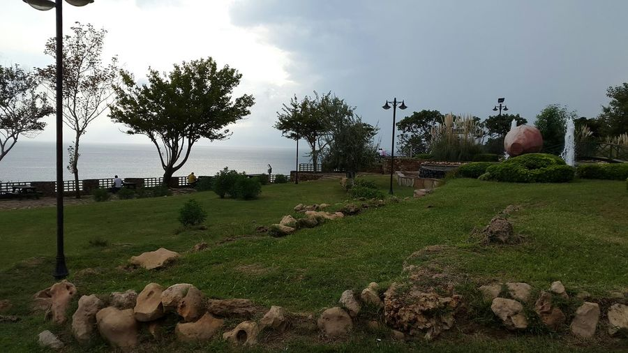 Bulutlu Bir Gun Yagmurluhava Kasvetli KederliGünlerim Antalya Lara Falezpark