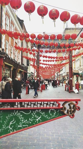 Large Group Of People Adult Outdoors City People Hanging Day London Taking Photos Travel Destinations Chinatown Your Ticket To Europe