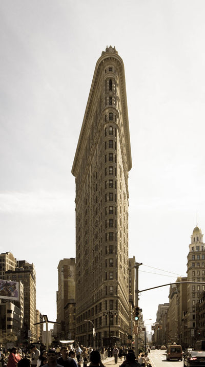 Architecture Building Building Exterior Capital Cities  City City Life Flatiron Building New York Office Building Tall Tall - High Tourism Tower Travel Destinations