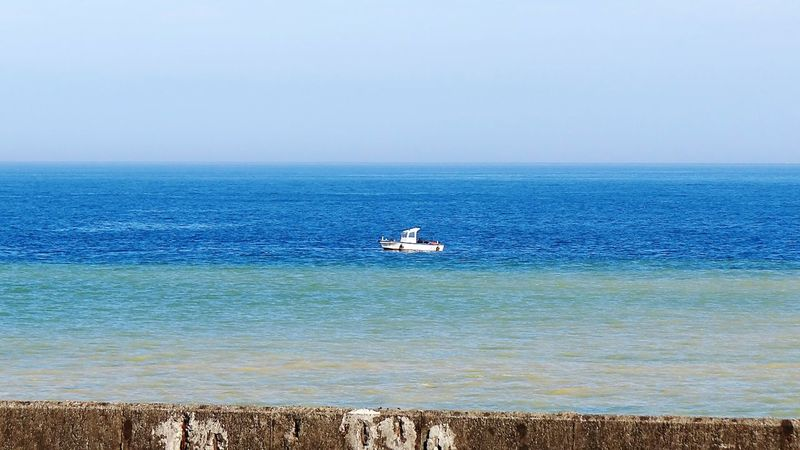 Sea Beach Horizon Over Water Water Outdoors Sand Nature Day Tranquility Nautical Vessel No People Sky Beauty In Nature Wave Ocean Summer Time  Ships Taiwan