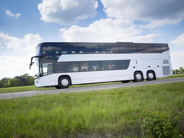 Bus Cloud - Sky Coach Day Double Decker Bus Dutch Landscape No People Outdoors Transportation Traveling