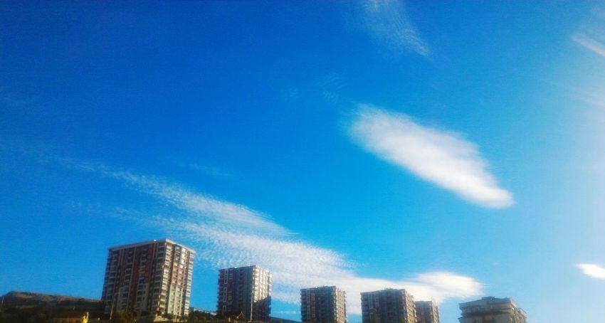 Malatya, Turkey Sky Cloud Cloud - Sky Bulutlar Türkiye Blue Sky Blue Mavi Binalar