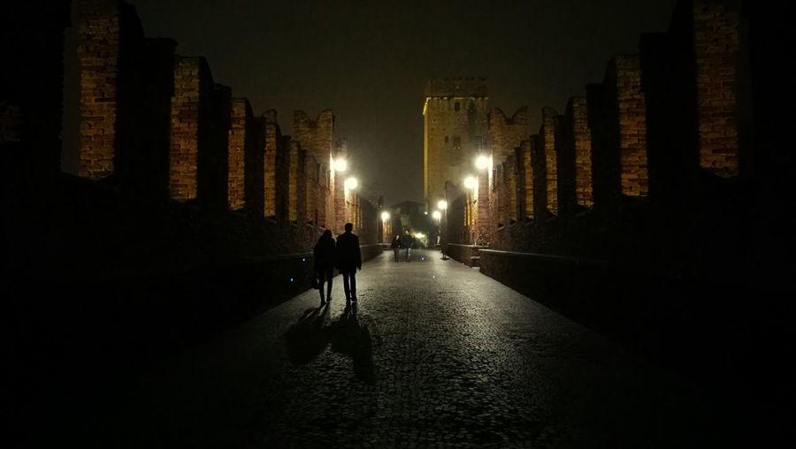 First Eyeem Photo Italia Verona Bridge Night People