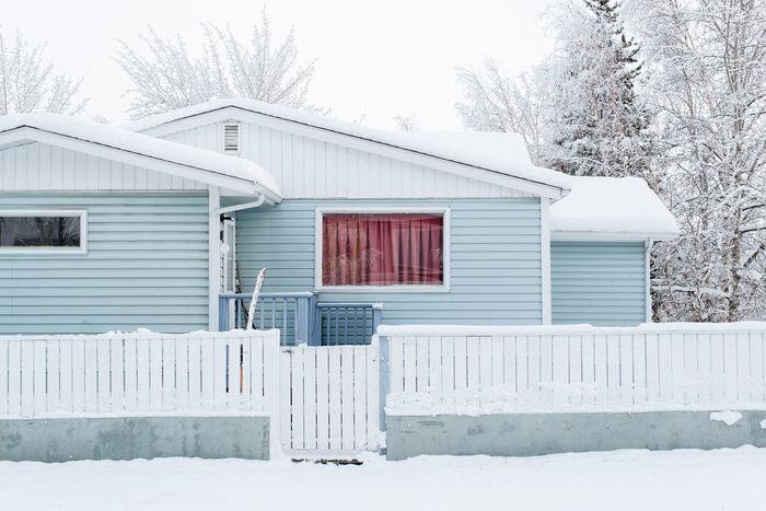 Architecture House Minimal Minimalist North Northern Canada Snow Urban Window Winter Yellowknife