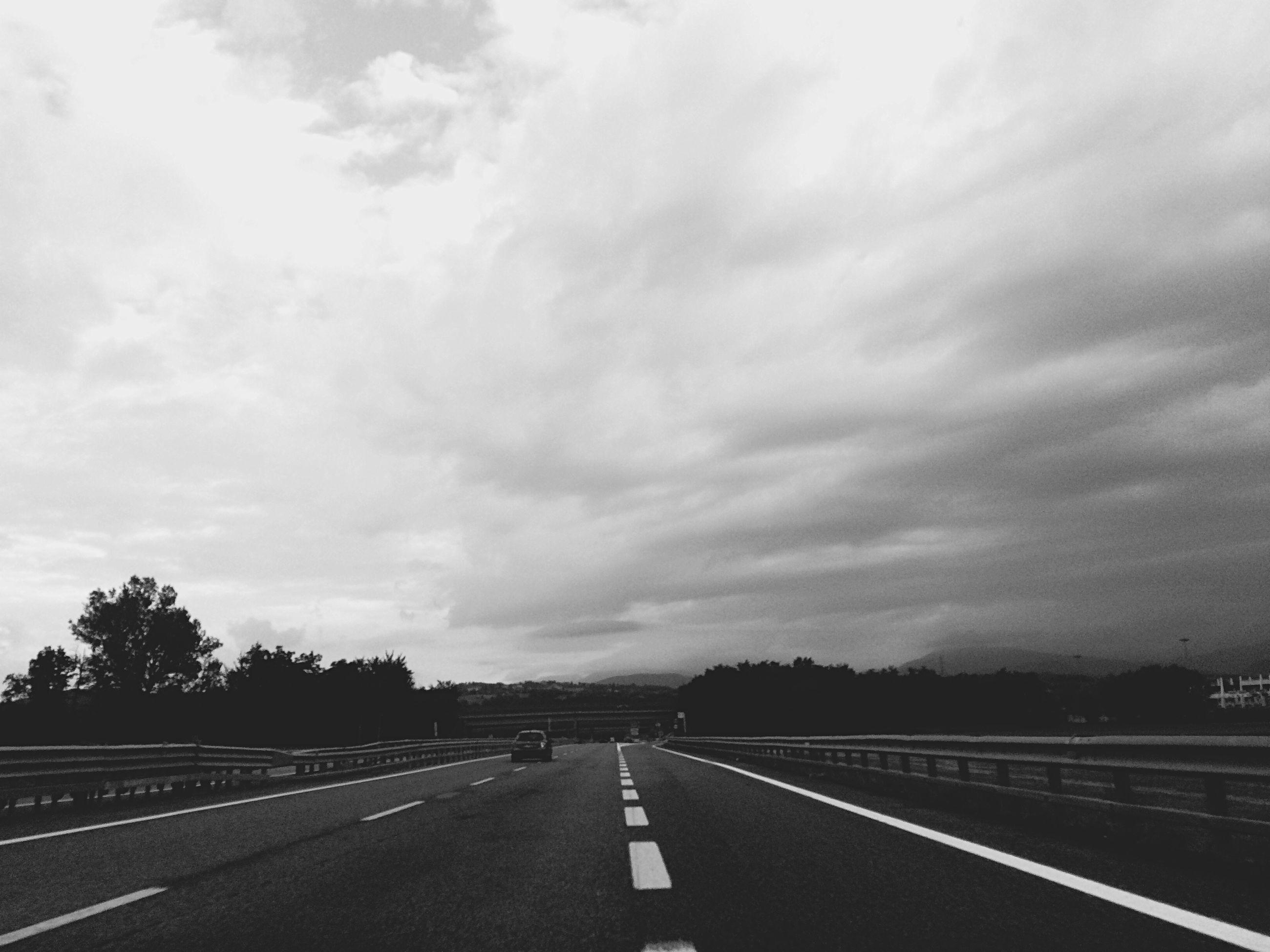 the way forward, road, transportation, sky, diminishing perspective, road marking, vanishing point, cloud - sky, cloudy, country road, empty road, empty, cloud, landscape, street, asphalt, overcast, tranquility, nature, tranquil scene