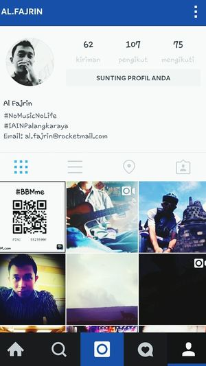 Please follow my instagram to see my collage pictures and videos, search by name al.fajrin thnks :)
