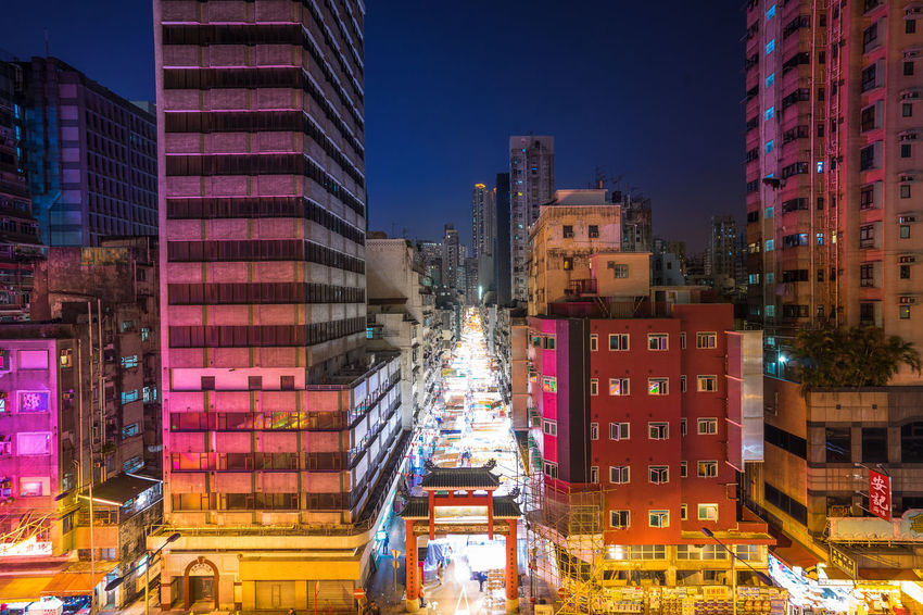 Grass Hawkers HongKong Lights Local Localsmd Market Night Templestreet Traditional