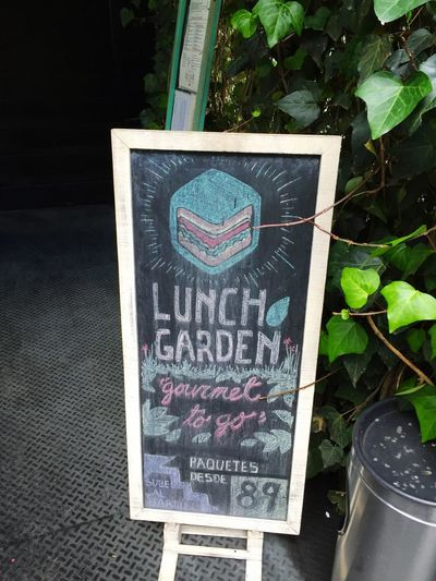 Blackboard 🍔 Lunch Summer15 Chalk Hamburger