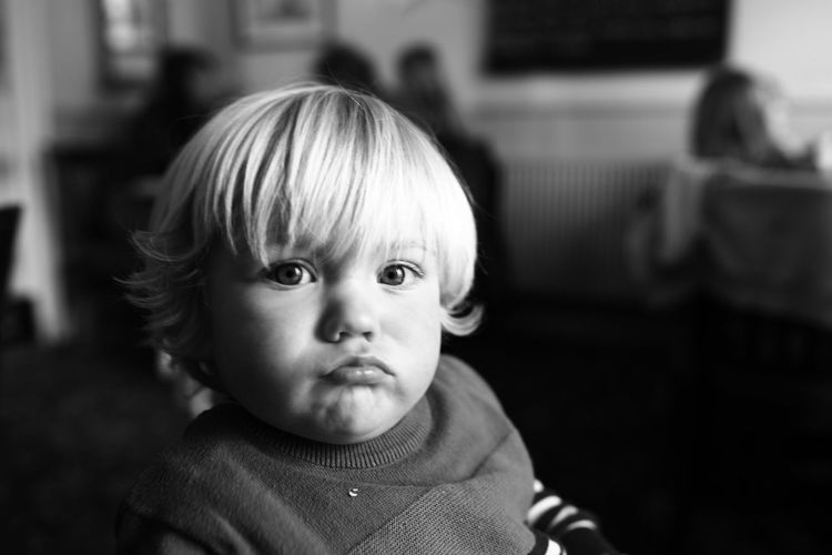 This Is Family Portrait Childhood Headshot Child Focus On Foreground One Person This Is Family Innocence Cute Looking At Camera Front View Toddler  Males  Boys Baby Contemplation Real People Indoors  Men Close-up Hairstyle The Portraitist - 2018 EyeEm Awards