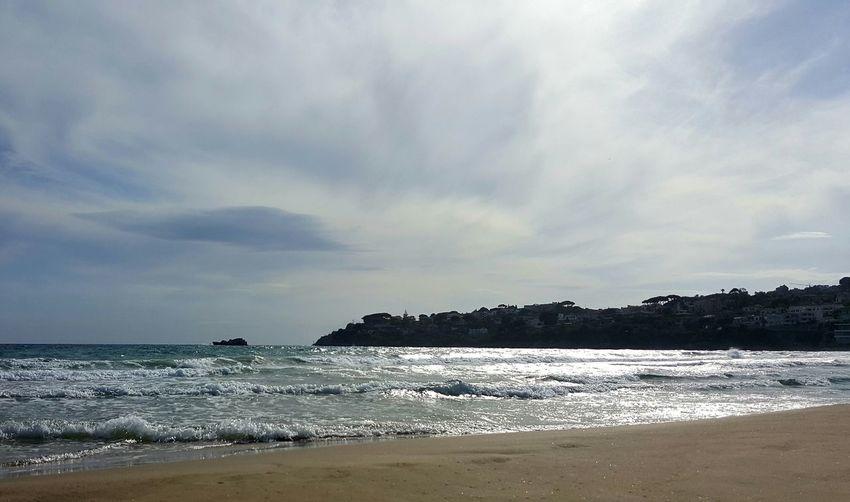Gaeta Mare Spiaggia Di Serapo