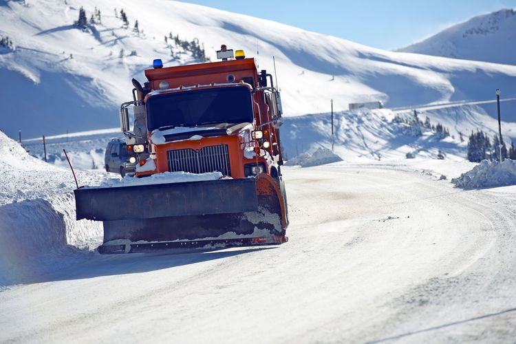 Snowplow Clearing Loveland Pass Road, Colorado United States. Colorado Beauty In Nature Cold Temperature Covering Day Environment Mode Of Transportation Mountain Mountain Range Nature Nautical Vessel No People Non-urban Scene Outdoors Scenics - Nature Snow Snowcapped Mountain Snowplow Tranquility Transportation White Color Winter