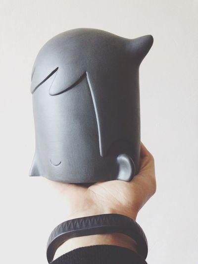 Hello World !! Yoskay Yamamoto U+I Porcelain  #black available @ www.artandtoys.com #shop @kolintribu #porcelain limoges france First Eyeem Photo