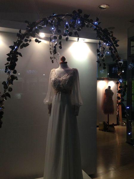 Escaparates Navidad Fashion Female Likeness Indoors  Store Illuminated No People Wedding Dress