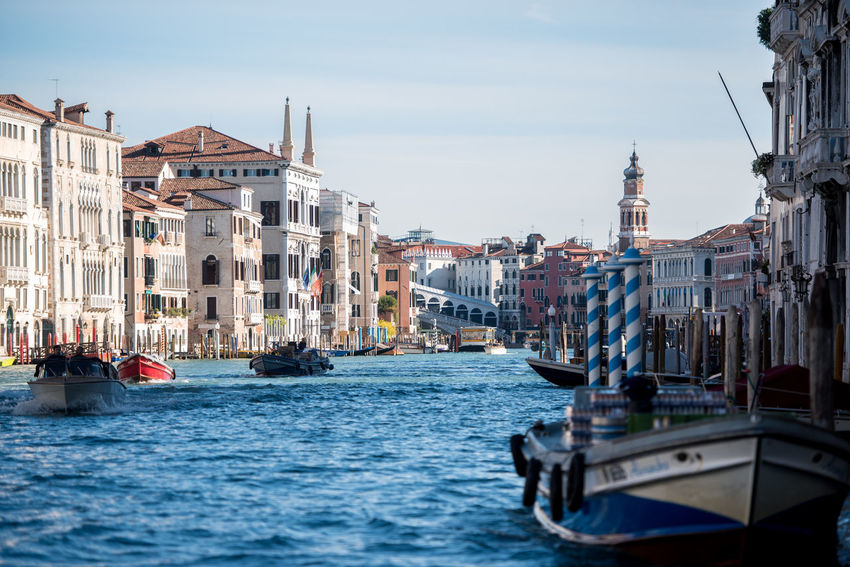 Venice, Italy Architecture Building Exterior Built Structure City Day Gondola - Traditional Boat Large Group Of People Mode Of Transport Nautical Vessel Outdoors People Real People Religion Sky Spirituality Transportation Travel Destinations Venice Water