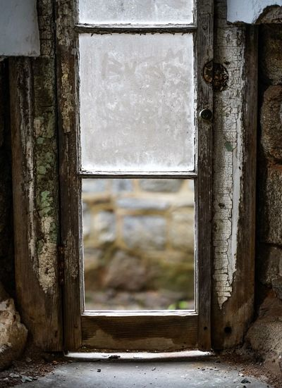 Eastern State Penitentiary Eastern State Penitentiary Abandoned Architecture Window No People Built Structure Old Weathered Damaged Building Run-down Obsolete Deterioration Focus On Foreground Ruined