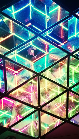 Psychedelic! Taking Photos VIVID Sydney Check This Out Art Installation