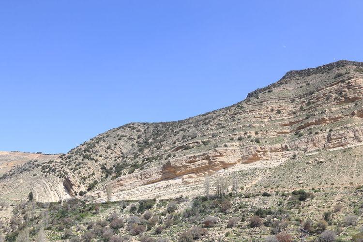 Mountains of the Dana Nature Reserve, Jordan Arid Climate ASIA Dana Jordan Desert Jordan Landmark Middle East Mountains Safety Sky Touristis