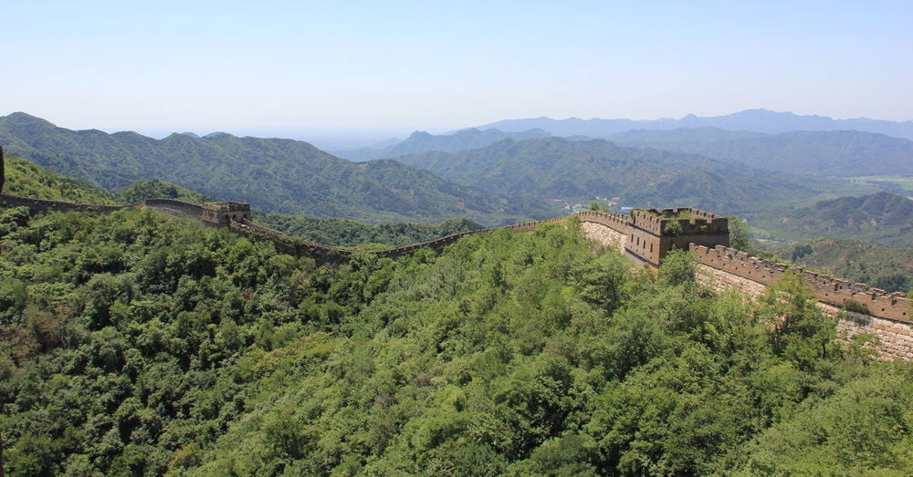 China Landscape Great Wall Great Wall Of China Beauty In Nature China China Landscape Chinese Day Nature Outdoors Sky Tranquil Scene