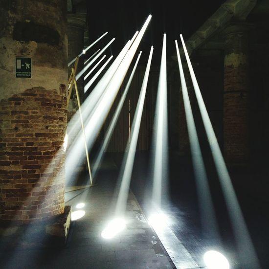 Biennale Architettura Light Beams show me the way!