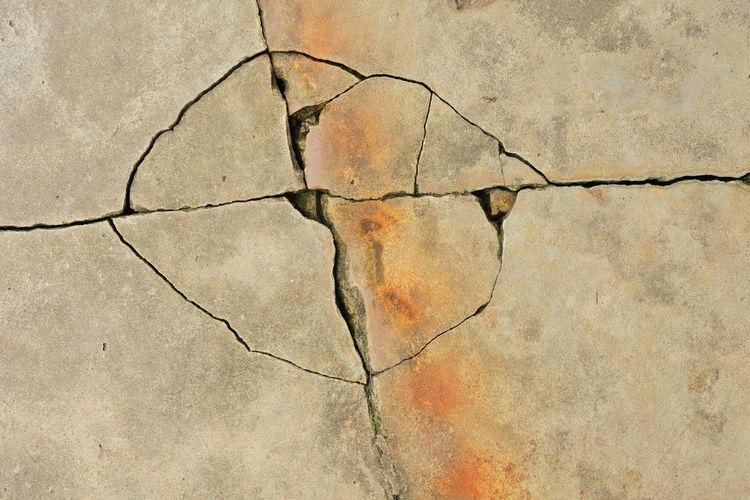 Sidewalk cracks