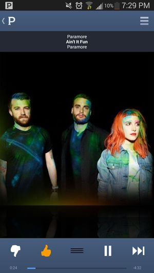 I love me some paramore Music Flow Listening To Paramore Ain't It Fun Check This Out
