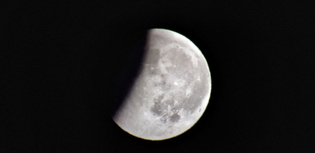 eclipse lunar Cártama Malaga Andalucia Spain Astronomy Space Moon Half Moon Space Exploration Moon Surface Discovery Satellite View Sky Close-up