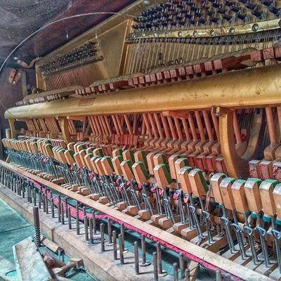 Música extraordinaria. Piano Music History Pic Photo Photooftheday Colorful