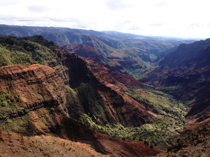 USA Hawaii KAWAII Kekaha Mountain Beauty In Nature Nature Landscape Tranquil Scene Tranquility Scenics Outdoors No People Day Mountain Range Sky
