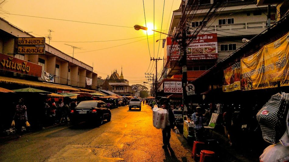 Chiang rai.Thailand Thailand First Eyeem Photo Chiangrai EyeEm Thailand Sunset Sunset_collection Smartphonephotography