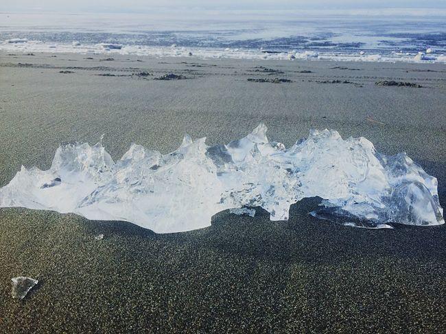 Beach Alaska Outdoors Winter Ice