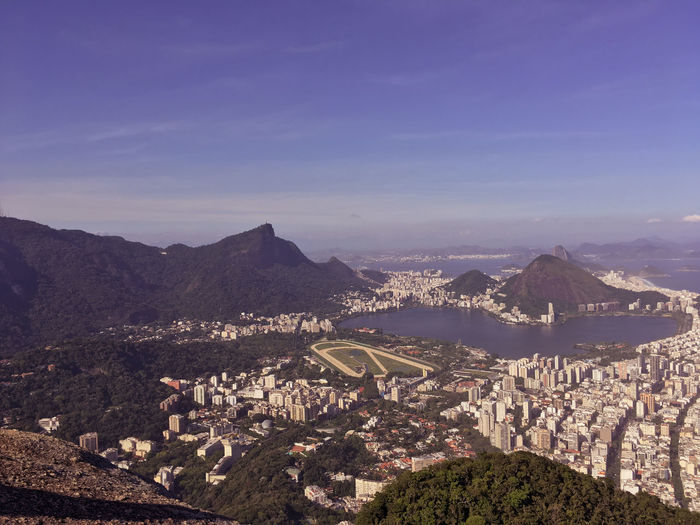 Rio de Janeiro sempre Lindo Architecture Sky Building Exterior Nature Scenics - Nature Cityscape Beauty In Nature Outdoors Mountain Built Structure City High Angle View Mountain Range No People Residential District Building Environment Day Travel Destinations Landscape TOWNSCAPE