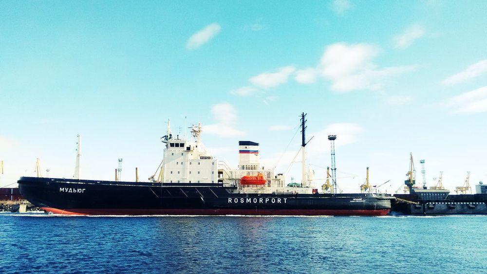 St. Petersburg Marine Navigation Ship Rosmorport Sea Sea And Sky Kanonersky Island Nofilter Nofilter#noedit
