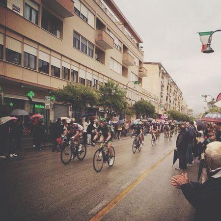 Giro d'Italia ??? Cassino... Traveling Ontheroad