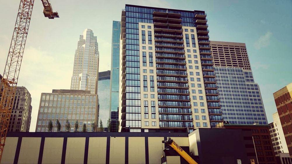 Under Construction Architecture Downtown Minneapolis Metropolis