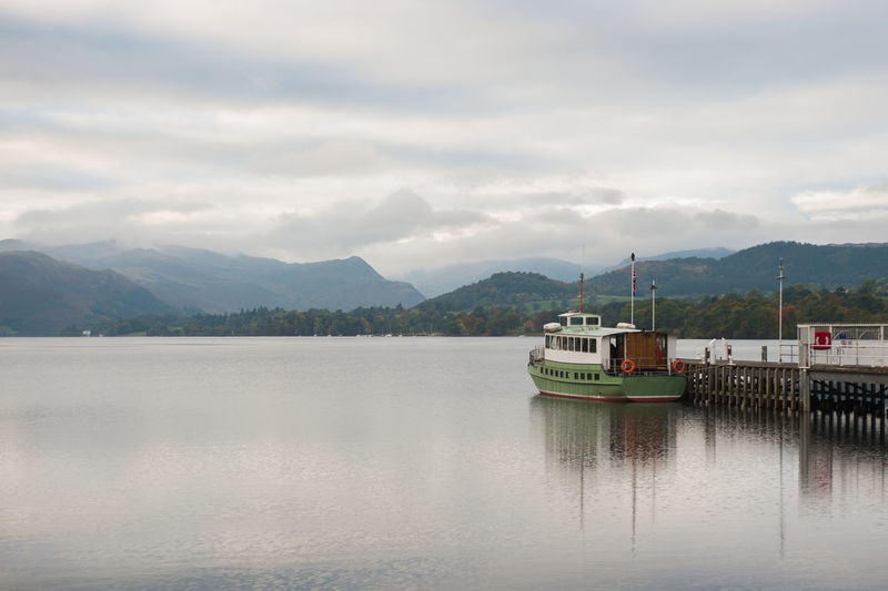Lake District Ullswater Boat Jetty Ship